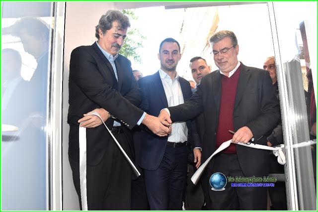 Μια νέα ΤΟΜΥ στο Μοσχάτο εγκαινίασε σήμερα ο κ. Πολάκης και ο Δημάρχου Μοσχάτου – Ταύρου κ. Ανδρέα Ευθυμίου