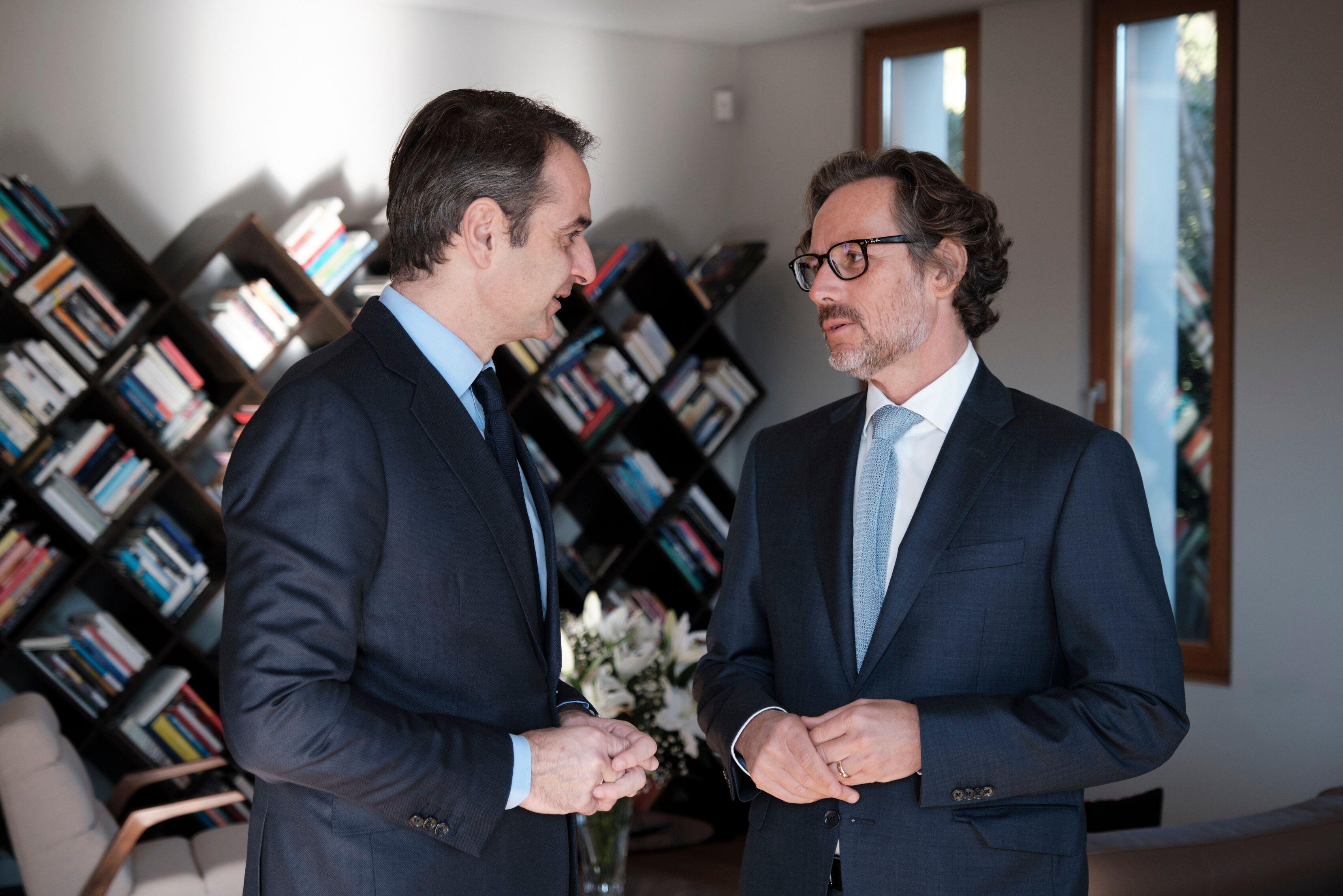 Κυρ. Μητσοτάκης: Νέο αφήγημα για τις Ελληνογερμανικές οικονομικές σχέσεις