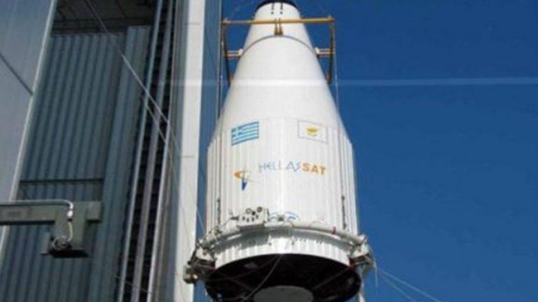 Αντίστροφη μέτρηση για την εκτόξευση του ελληνικού δορυφόρου Hellas Sat 4 (βίντεο)