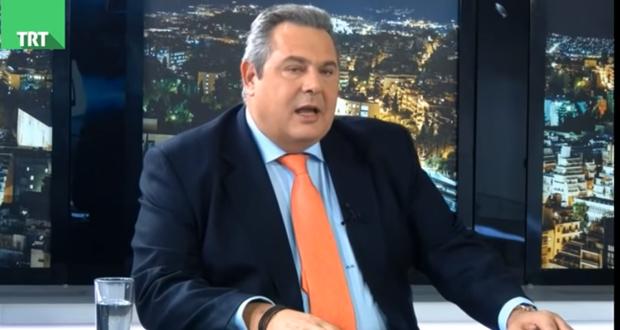 Καμμένος: Με μια ίλη τεθωρακισμένων τα Σκόπια είναι υπόθεση 20 λεπτών (βίντεο)