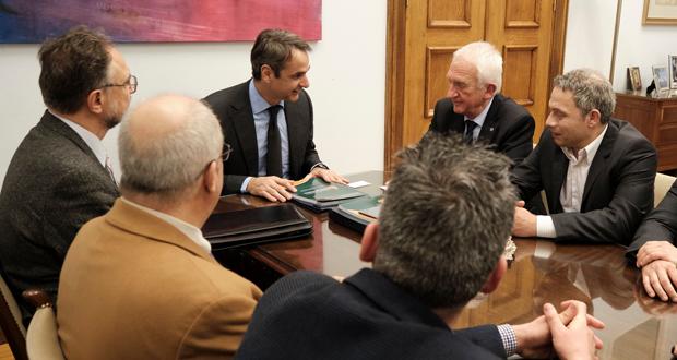 Κ. Μητσοτάκης: Συνάντηση με την Επιτροπή για τη Διαχείριση των Πυρκαγιών