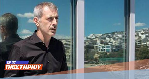 LIVE: Ο δήμαρχος Πειραιά Γιάννης Μώραλης στο«Επί του Πιεστηρίου»