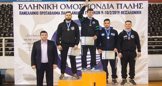 Πρωταθλητής Ελλάδας στην ελληνορωμαϊκή ο ΠΑΟΚ