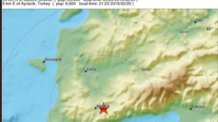 Ευρωμεσογειακό: Στα 5,6 Ρίχτερ ο σεισμός στη Μυτιλήνη – ΤΩΡΑ