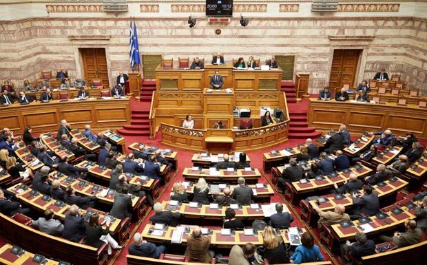 LIVE: Στο βήμα της Βουλής o Πάνος Καμμένος