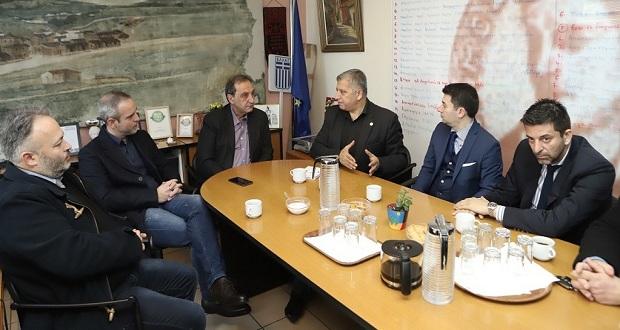 Επίσκεψη του Υποψήφιου Περιφερειάρχη Αττικής Γιώργου Πατούλη στον Βύρωνα