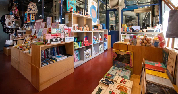 Industrial Gas Museum Shop Τhe Book Lab: «Μια φορά και έναν καιρό ήταν το… βιβλίο»