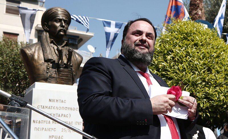 Β. Μαρινάκης: Επαναλαμβάνεται η ιστορία με τους άκαπνους της Επανάστασης που εξευτέλισαν τους ήρωες