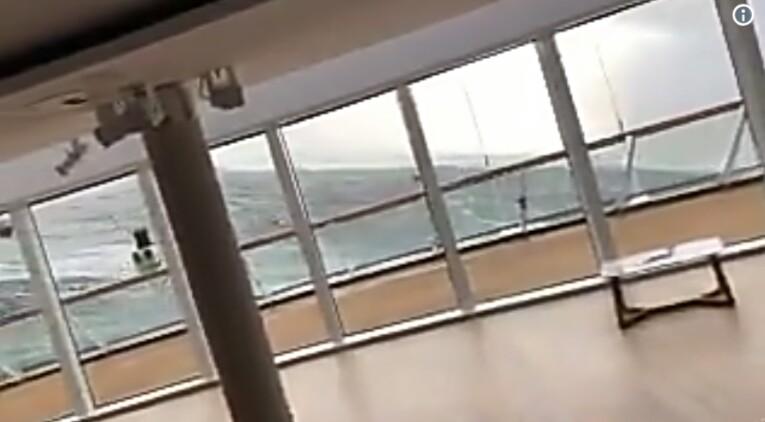Νορβηγία: Συγκλονιστικά πλάνα μέσα από το ακυβέρνητο κρουαζιερόπλοιο