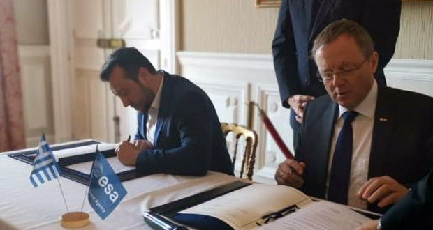 Υπογραφή συμφωνίας ESA – Ελλάδας για τη δημιουργία εθνικού προγράμματος ανάπτυξης τεχνολογιών διαστήματος