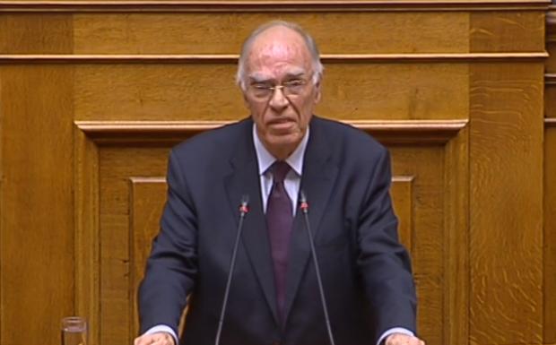 LIVE: Στο βήμα της Βουλής ο Βασίλης Λεβέντης