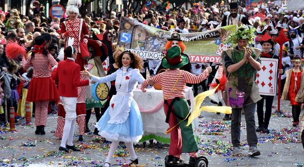Το ιστορικό Καρναβάλι Μοσχάτου-Ταύρου