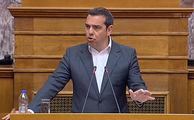 Δριμεία κριτική Τσίπρα στην κυβέρνηση: «Πού είναι η ανάπτυξη 4%, οι πολλές και καλές δουλειές;»