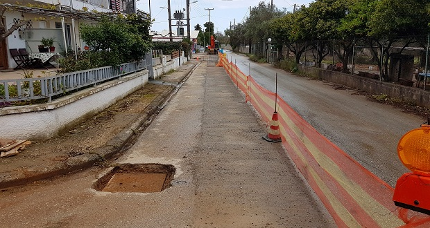 Δήμος Λευκάδας: Ξεκίνησε νέο αντιπλημμυρικό έργο στην Αγία Μαρίνα και στα Βαρδάνια