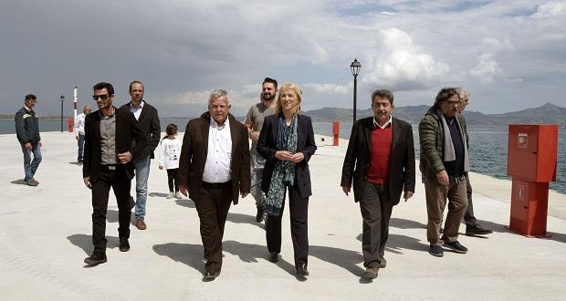 Επίσκεψη εργασίας της Περιφερειάρχη Ρένας Δούρου σε Αγκίστρι και Αίγινα