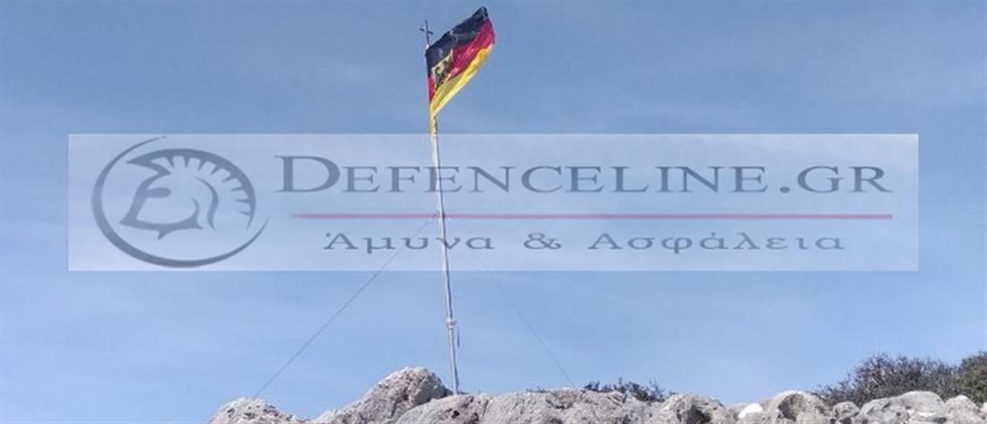 Γερμανοί κατέβασαν την ελληνική σημαία και ύψωσαν την γερμανική στα Χανιά (εικόνες)