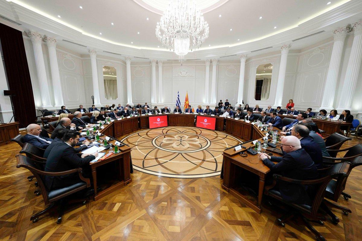 Οι συμφωνίες στο Ανώτατο Συμβούλιο Ελλάδας και Δημοκρατίας της Βόρειας Μακεδονίας