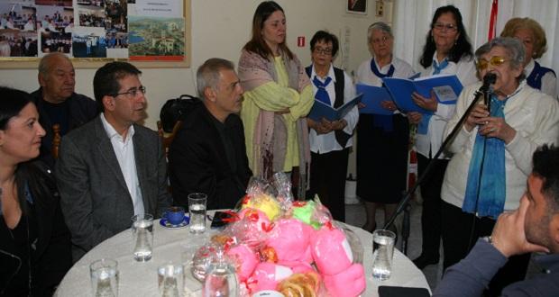Ο δήμαρχος Πειραιά, Γιάννης Μώραλης, σε εκδηλώσεις των Κέντρων Αγάπης και Αλληλεγγύης εν όψει των εορτών του Πάσχα