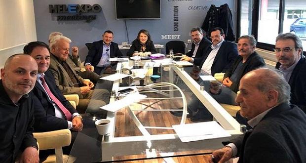 Συνάντηση εκπροσώπων Άτυπης Διεπαγγελματικής Ομάδας Ακτινιδίου υπό τον συντονισμό του ΣΕΒΕ με την Υφυπουργό Αγροτικής Ανάπτυξης και Τροφίμων κ. Ολυμπία Τελιγιορίδου