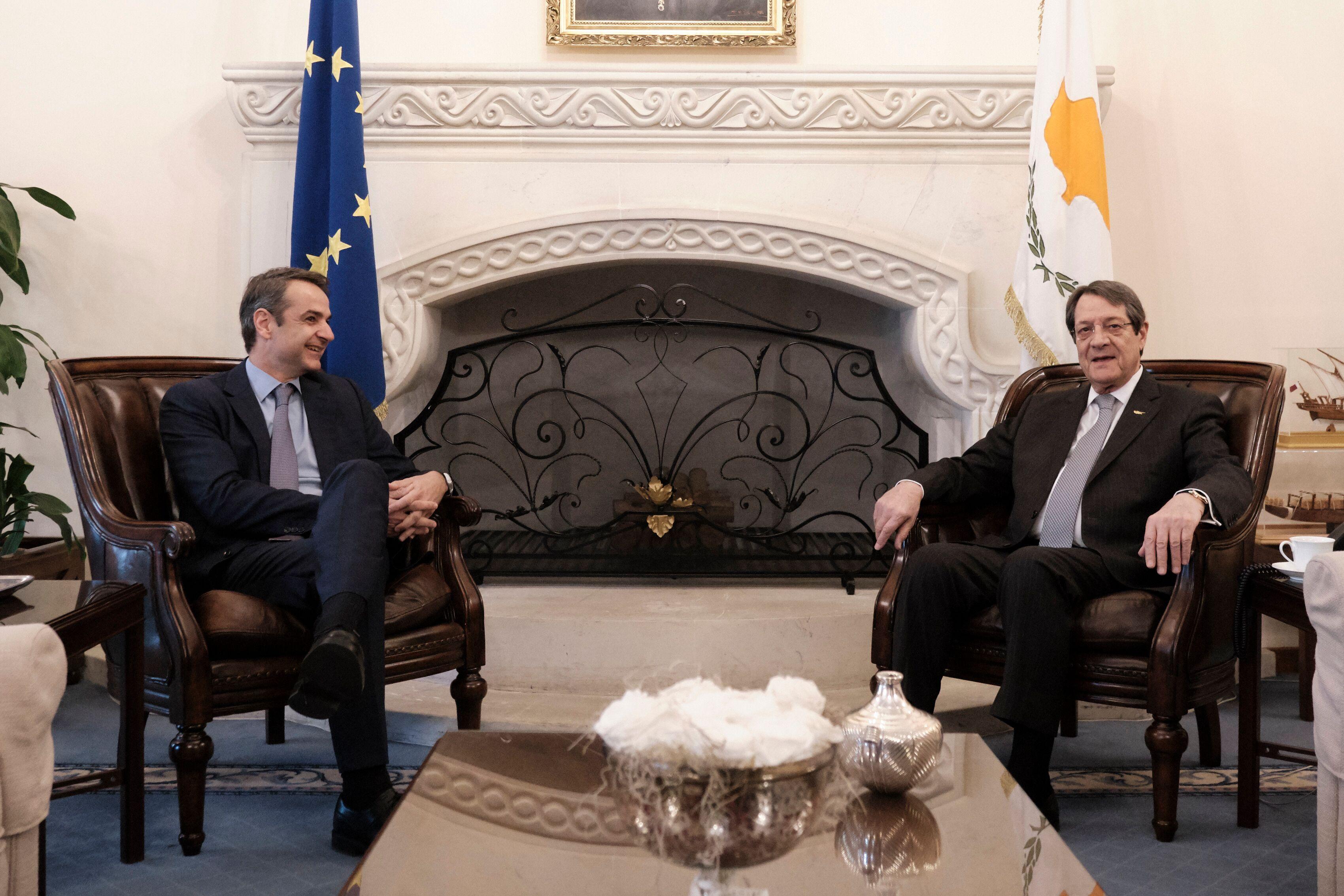 Δηλώσεις του Προέδρου της Ν.Δ. μετά τη συνάντησή του με τον Πρόεδρο της Κυπριακής Δημοκρατίας κ. Νίκο Αναστασιάδη