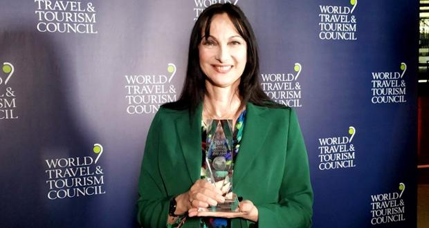 Bραβείο «Global Champion 2019» Έλενα Κουντουρά
