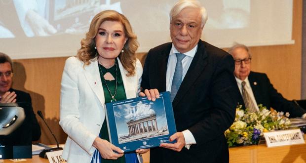 Μαριάννα Β. Βαρδινογιάννη: Δεν υπάρχει καλύτερος τρόπος να παρακολουθήσει κανείς τη μοναδική ιστορική διαδρομή του ελληνικού έθνους, παρά ακολουθώντας τα μνημεία μας!