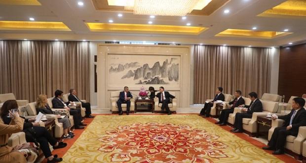 Επίσκεψη του Προέδρου της ΚΕΔΕ και του ΙΣΑ Γ. Πατούλη στο Ανχούι και τη Σανγκάη της Κίνας
