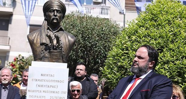 Όλοι οι Πειραιώτες αγκάλιασαν την πρωτοβουλία του δημάρχου Γιάννη Μώραλη για απότιση φόρου τιμής στον ήρωα του '21 Νικηταρά…