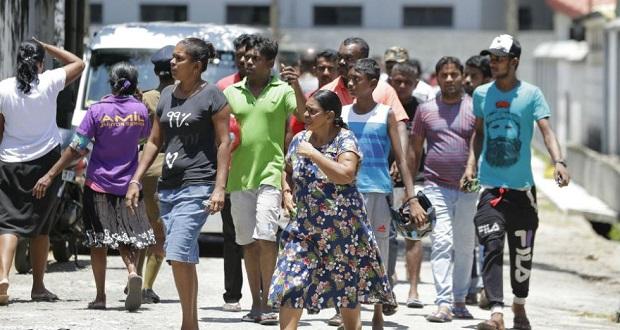 Εκατόμβη νεκρών από πολλαπλές εκρήξεις στη Σρι Λάνκα