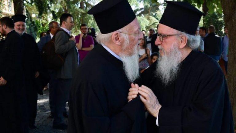 Ο Οικουμενικός Πατριάρχης κάλεσε εκτάκτως τον Αρχιεπίσκοπο Αμερικής Δημήτριο στο Φανάρι