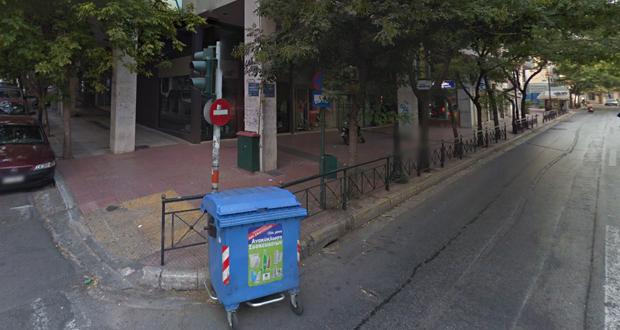 Π. Αδαμίδης: Βουκουρεστίου και Ακαδημίας γωνία