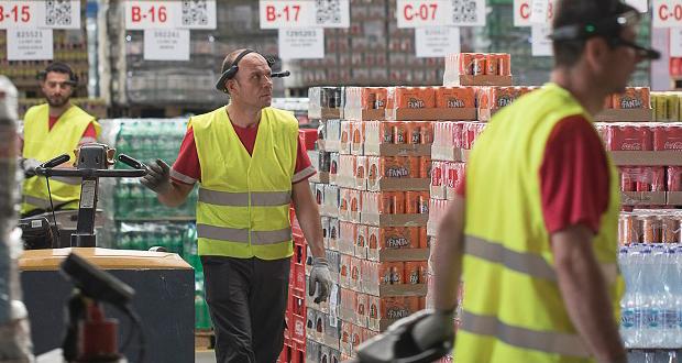 Η Coca-Cola Τρία Έψιλον πρωτοπορεί με τη χρήση Augmented Reality στη διαχείριση αποθήκης, στο Κέντρο Διανομής Βορείου Ελλάδος