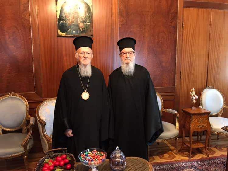 Την παραίτησή του υπέβαλε ο Αρχιεπίσκοπος Αμερικής