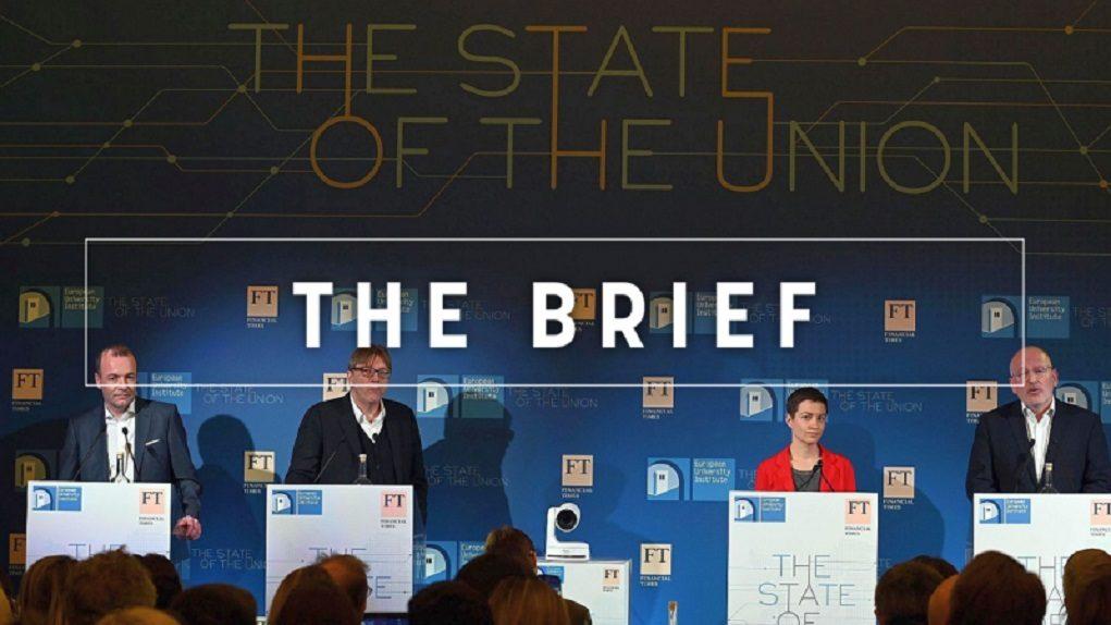 Απευθείας μετάδοση – Κομισιόν: Το debate των υποψηφίων για την προεδρία από την ΕΡΤ1