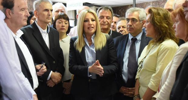 Φ. Γεννηματα: Ποιος εμπιστεύεται πια τον κ. Τσίπρα σε αυτό τον τόπο;