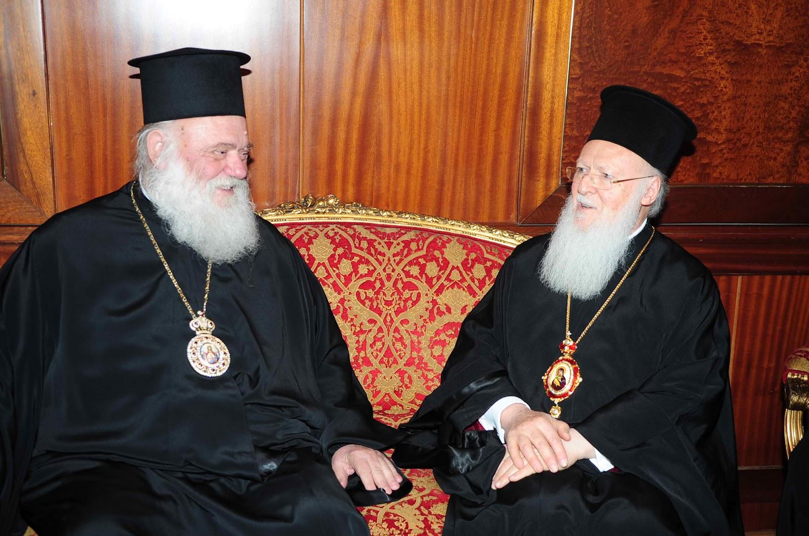 Στο Φανάρι τον Ιούνιο ο Αρχιεπίσκοπος Ιερώνυμος
