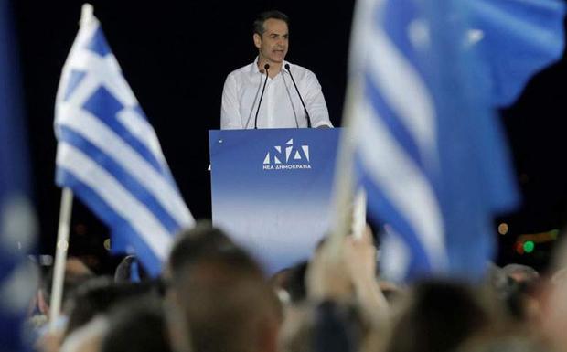 Κυρ. Μητσοτάκης: Η Ελλάδα θα γίνει μπλε το βράδυ της Κυριακής (βίντεο)