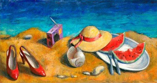 Ομαδική Έκθεση «Μια παραλία μέσα στην πόλη» στον Εικαστικό Κύκλο Sianti