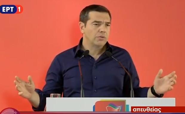 Αλ. Τσίπρας: Ανασυγκρότηση και έμφαση στη νέα γενιά που μας έδωσε ψήφο εμπιστοσύνης