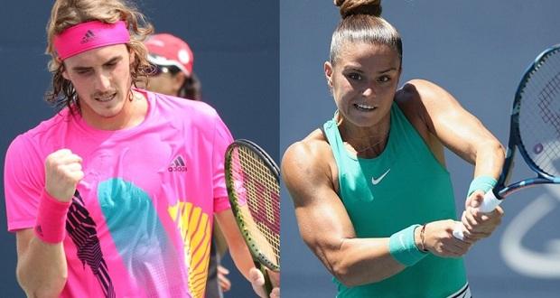 Στ. Τσιτσιπάς και Μ. Σάκκαρη ανεβάζουν το ελληνικό τένις, για μία ακόμη φορά, ψηλά