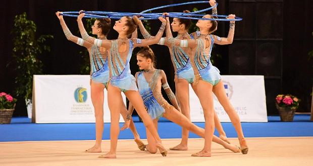 Θετικό ξεκίνημα από το ανσάμπλ νεανίδων στο Ευρωπαϊκό Πρωτάθλημα Ρυθμικής