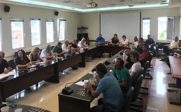 Ευρεία σύσκεψη με συμμετοχή αγροτών στην ΠΕ Πέλλας για την αντιμετώπιση των επιπτώσεων της χαλαζόπτωσης