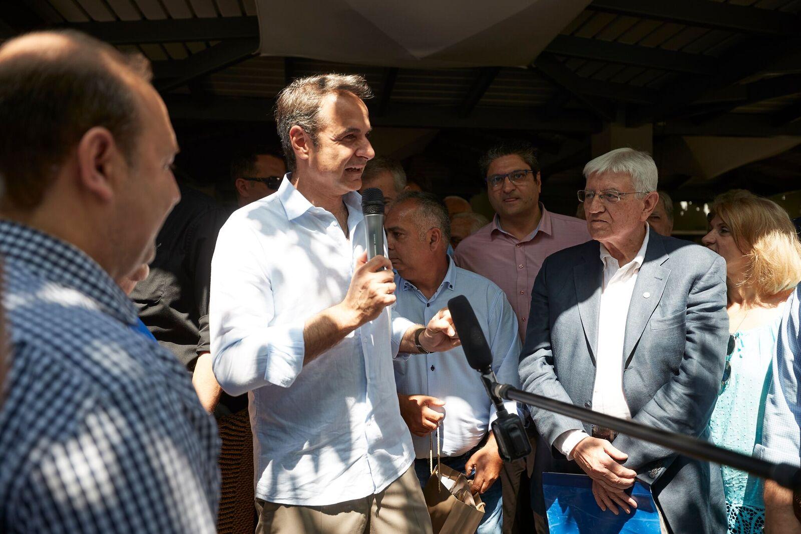 Κ. Μητσοτάκης: Μόνο ενωμένοι και με ισχυρή ανάπτυξη θα πάμε μπροστά