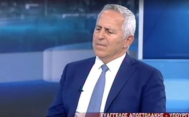 Αποστολάκης: Δεν θα ανεχτούμε παράνομες ενέργειες – Θα απαντήσουμε (βίντεο)