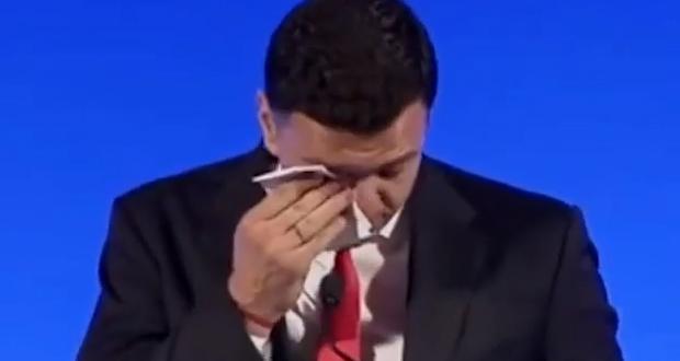 Έκλαψε ο Κικίλιας στην ομιλία του