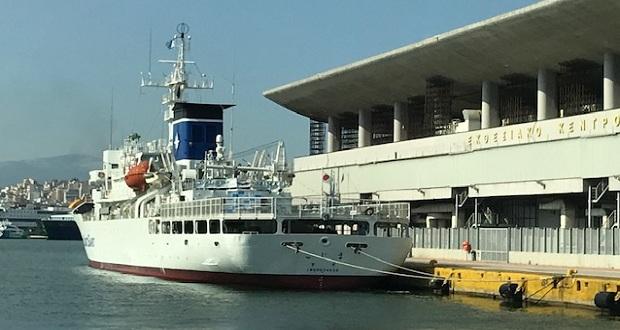 Επίσκεψη του εκπαιδευτικού πλοίου της Ιαπωνικής Ακτοφυλακής «KOJIMA» στο λιμάνι του Πειραιά