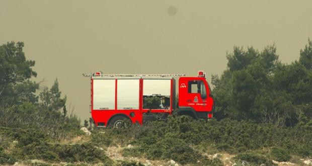 Μεγάλη πυρκαγιά στον Πισσώνα Ευβοίας