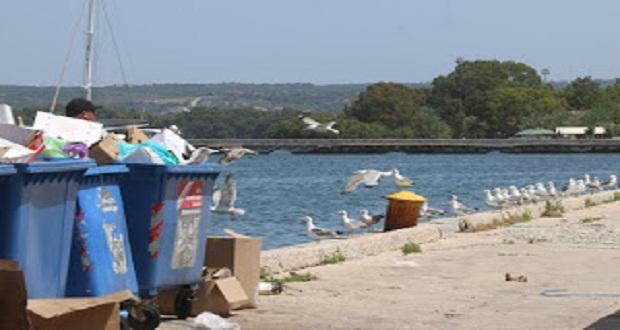 Να μαζέψουν οι ίδιοι τα σκουπίδια για μία φορά και να πάνε να τα αφήσουν έξω από το Μέγαρο