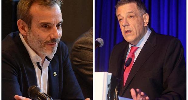 Διχάζει τους γαλάζιους της Θεσσαλονίκης η διαμάχη μεταξύ του νικητή των εκλογών Κ. Ζέρβα και του ηττημένου Ν. Ταχιάου