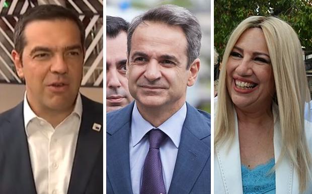 Τσίπρας – Μητσοτάκης – Γεννηματά: Ζητούν μέτρα και κυρώσεις εάν δεν τερματιστούν άμεσα οι παράνομες ενέργειες στην Κυπριακή ΑΟΖ (βίντεο)